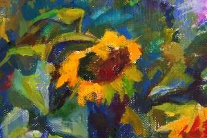 Sonnenblumen-fragment